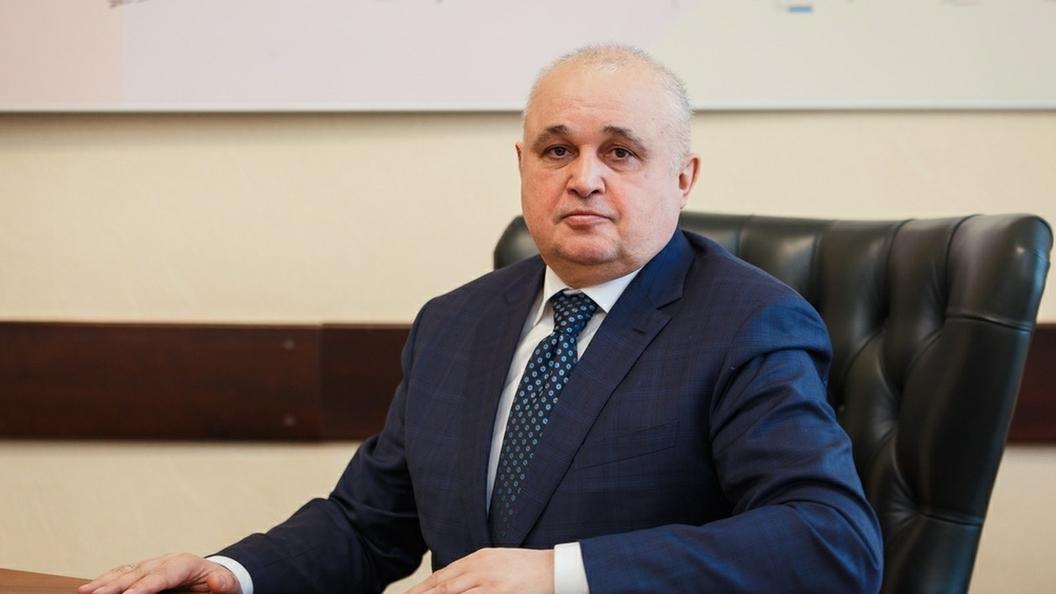 Путин выслушал отчет о первых днях работы врио главы Кузбасса
