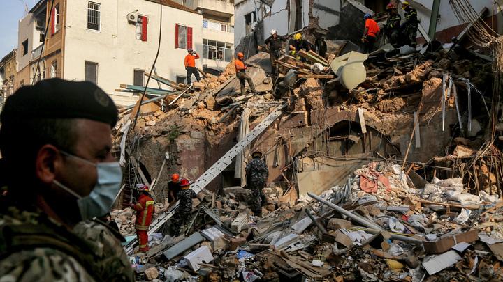 Сердце всё ещё бьётся: Спустя месяц со взрыва в Бейруте под завалами нашли живого