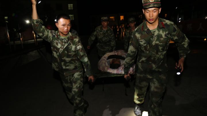 Землетрясение в Китае парализовало движение поездов