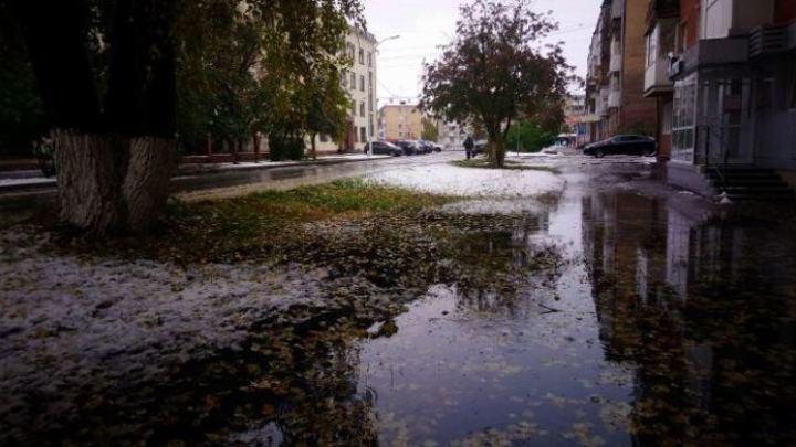 После дождей с мокрым снегом в Кузбасс придет потепление