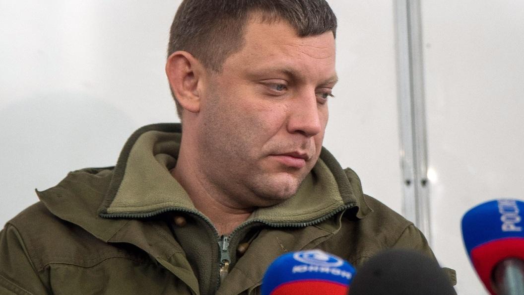 Захарченко поздравил Пасечника совступлением вдолжность и.о. руководителя ЛНР