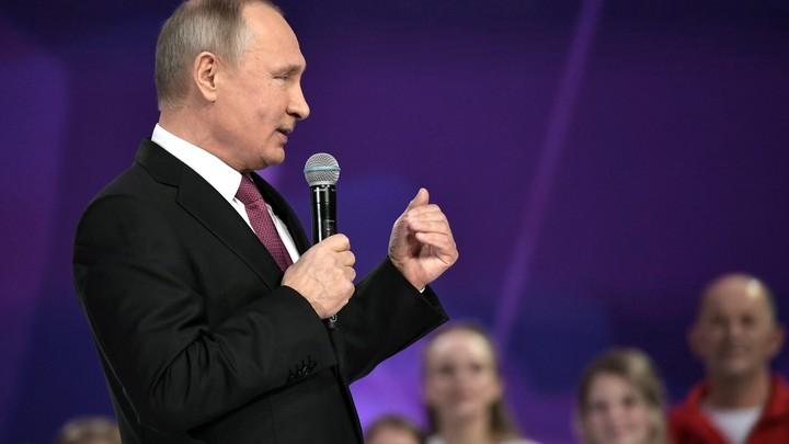 Путин рассказал о своей борьбе с бирбаухом