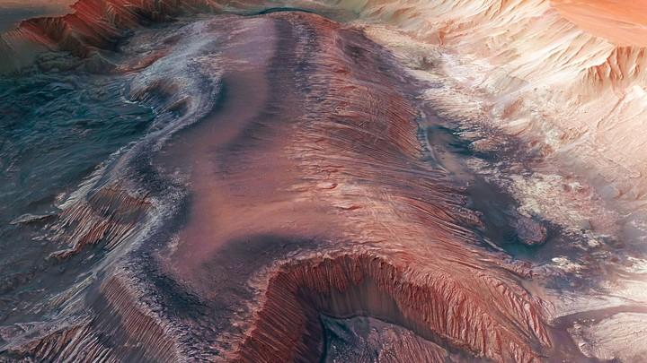 Директор NASA опубликовал записанный на Марсе шум ветра