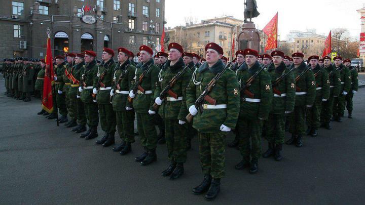 Великая держава: День войск национальной гвардии России