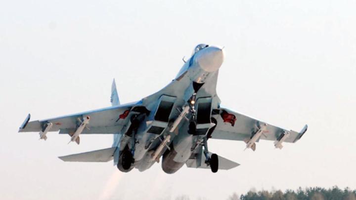 Догнал собаку: в Сети оценили видео перехвата американского разведчика русским Су-27