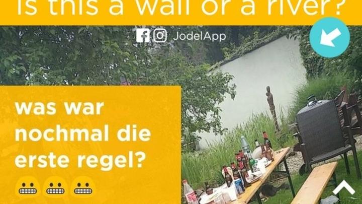Река или стена: В соцсетях ломают головы из-за новой оптической загадки