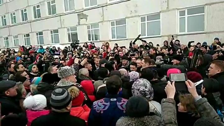 Называющий себя лидером протестов в Волоколамске заявил о визите ФСБ