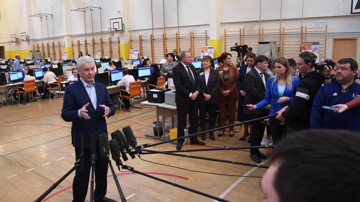 Мэр Москвы Сергей Собянин поблагодарил москвичей за выбор кандидатов из его списка