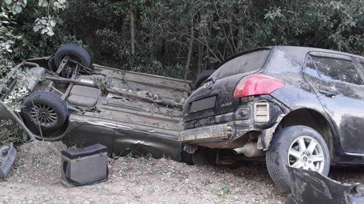 В Ивановской области из-за пьяного водителя две машины вылетели в кювет