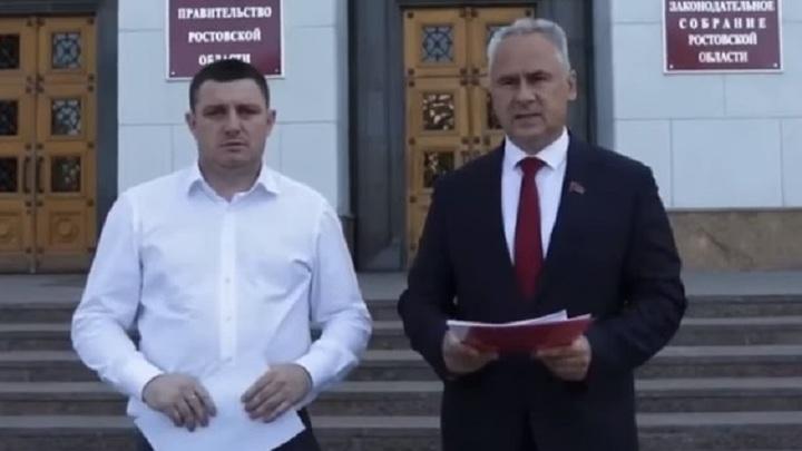 Экс-кандидаты в губернаторы Ростовской области от ЛДПР и КПРФ обратились в Генпрокуратуру и Следком