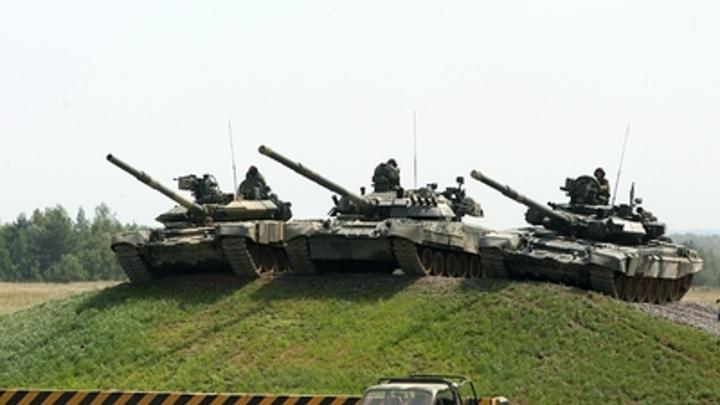 Китайские истребители будут тестировать на макете российского танка - Defence-blog