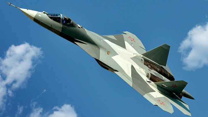 Американские лётчики будут глядеть на Су-57 глазами, полными слёз