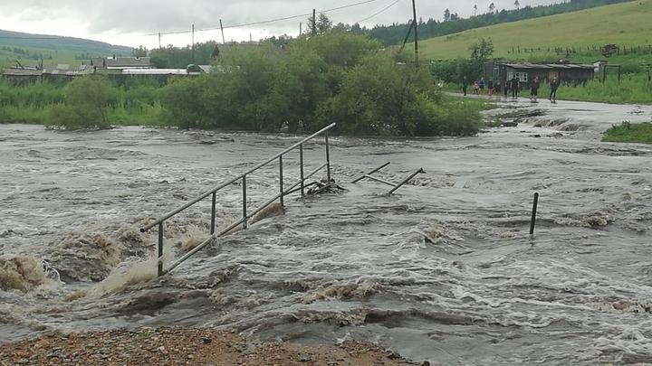 Гурулев доложил о ситуации с паводком в Забайкалье