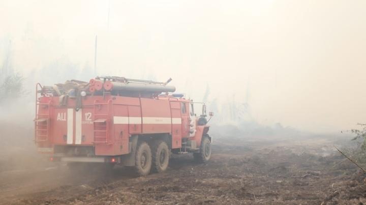 Дачники покидают юг Нижегородской области из-за приближающегося пожара из Мордовии