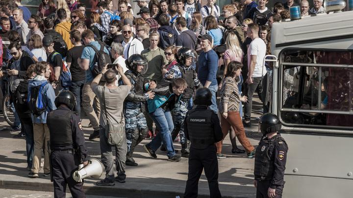 СМИ вычислили провокаторов и «серых кардиналов» митинга «навальнят» 5 мая
