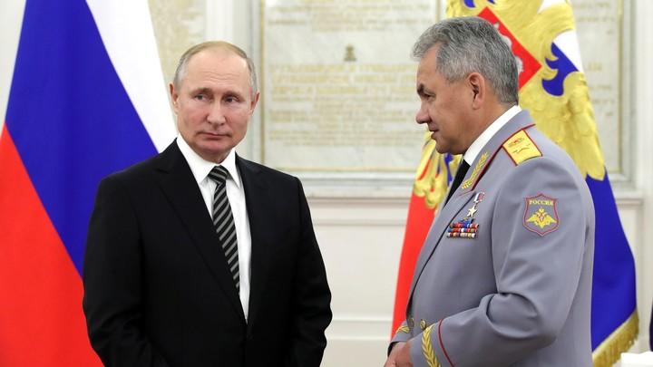 Подарили мир: Шойгу передал русским военным слова Путина о безупречной службе