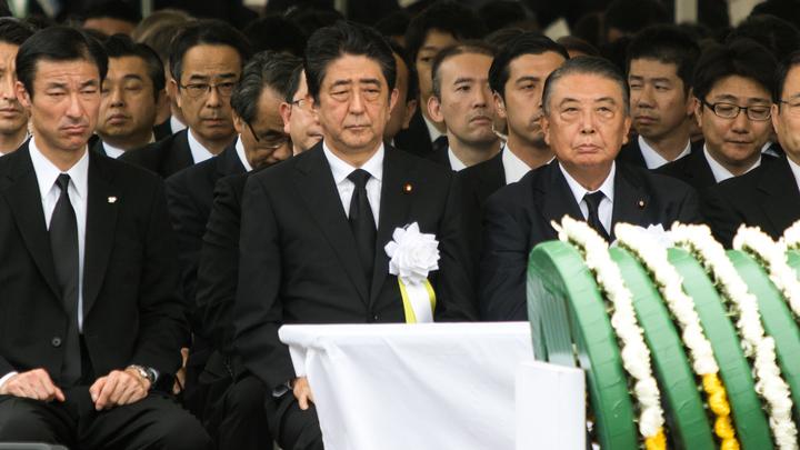В Японии почтили память жертв американской атомной бомбардировки Нагасаки