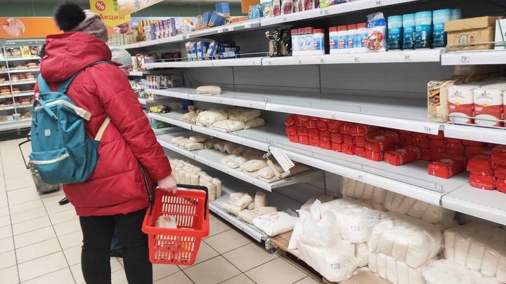 В Москве и Подмосковье начался штурм магазинов после заявления оперштабов