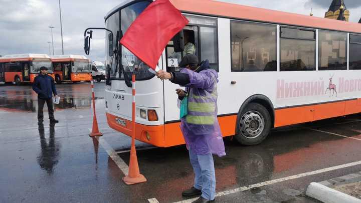 В Нижегородской области выбирают лучших водителей автобусов