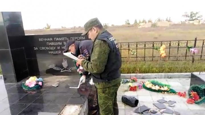 Бастрыкин взял на контроль дело об осквернении памятника погибшим на Халхин-Голе