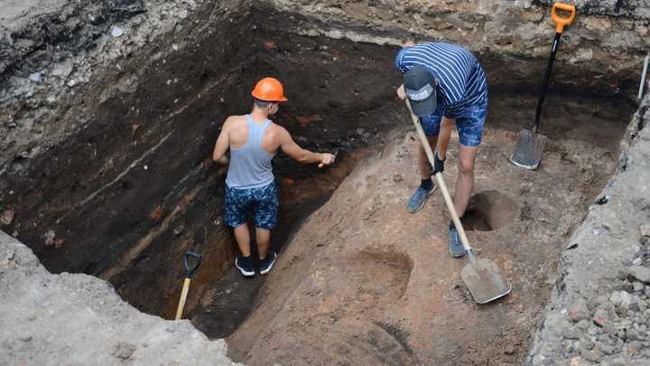 Следы древней крепости нашли в Арзамасе