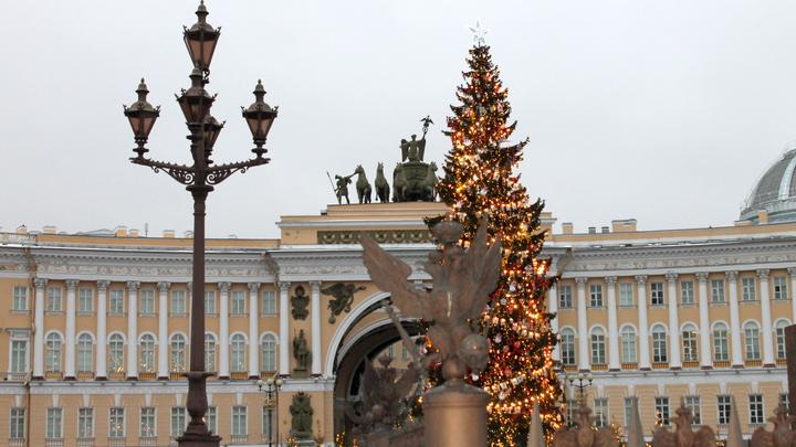 В Санкт-Петербурге перекрыли Дворцовую площадь