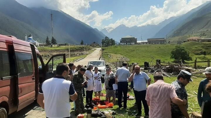 Найдено тело второго туриста из Краснодара, погибшего при опрокидывании катамарана в горах КЧР