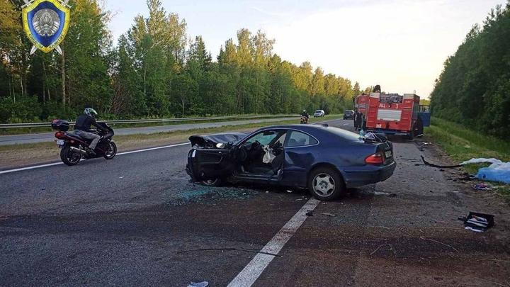 МВД Беларуси: на трассе М1 произошло серьезное ДТП