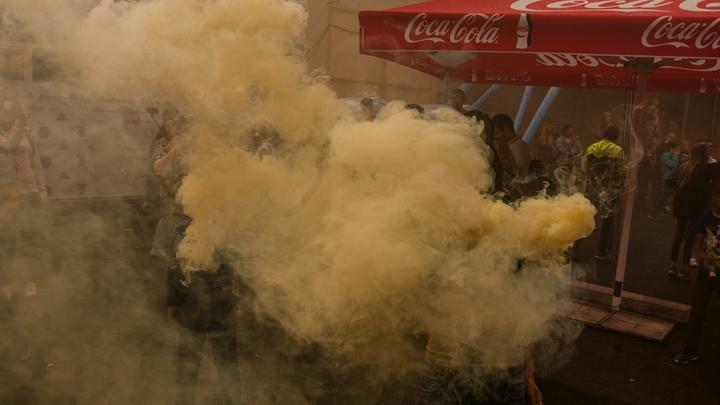 Не только миномёты, но и дымовые шашки: в ДНР прокомментировали взрыв в киевском ТЦ