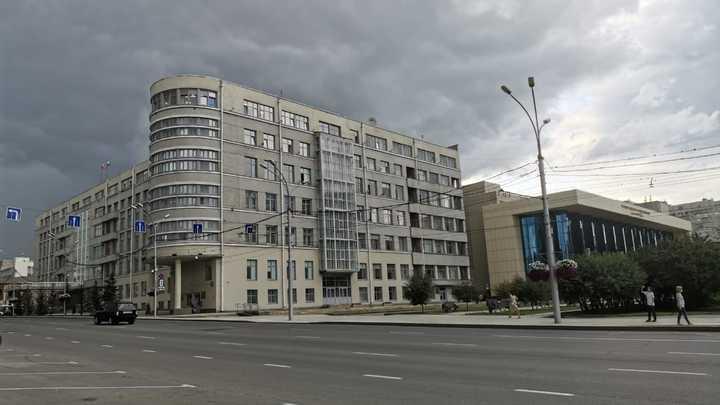 Мощный ливень затопил улицы Новосибирска