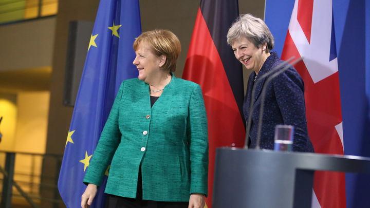 Могучие рейнджеры: Меркель и Мэй собрались противостоять российской агрессии