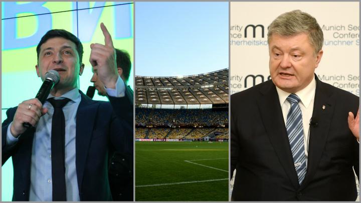 Во сколько Украине обойдется предвыборный баттл кандидатов в Олимпийском