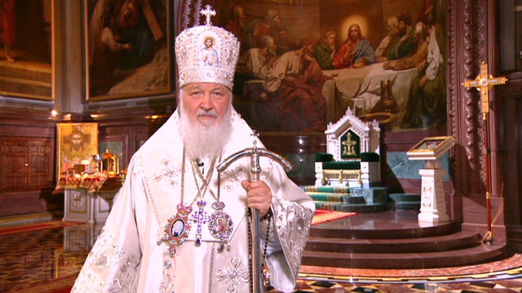 Патриарх Кирилл:Сам Господь воскресший дарит нам состояние радости