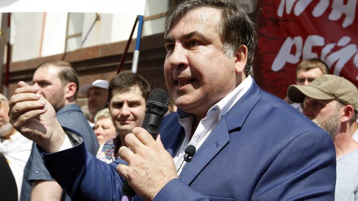 Саакашвили, чтобы попасть на Украину, взял сына в качестве группы поддержки