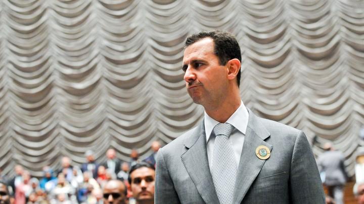 Асад телеграммой выразил соболезнования Путину в связи с крушением Ил-20