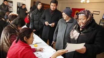 ЦИК Киргизии назвал район с самой низкой явкой на выборах президента