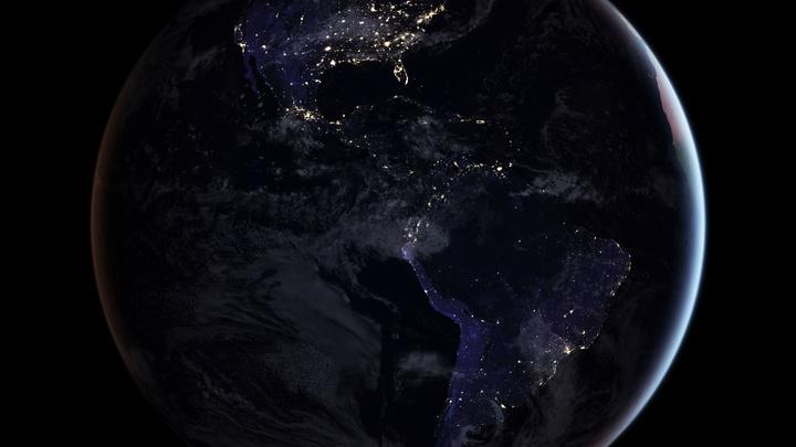 Японский спутник поймал на видео тень, заслонившую земное Солнце