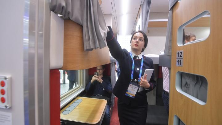 РЖД покажут плацкартный «вагон будущего» на Казанском вокзале - фото