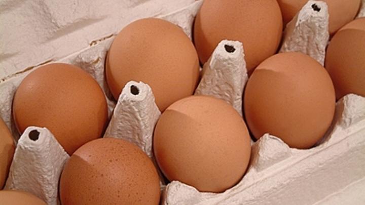 В Кургане за месяц на 30% выросла цена на яйца