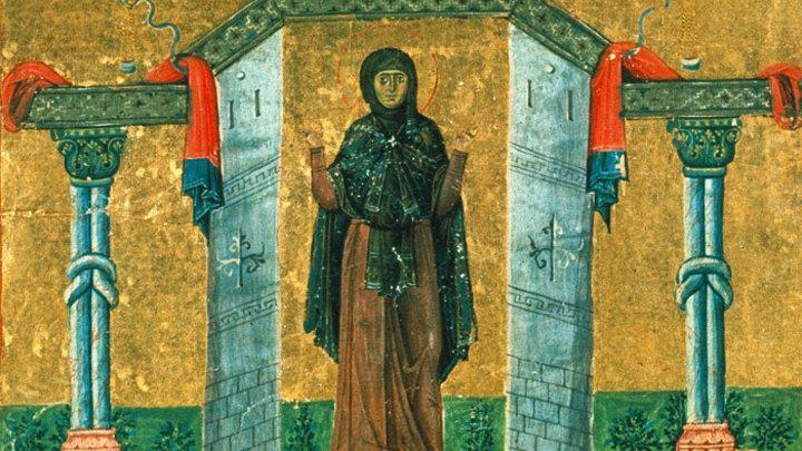Преподобная Мелания Римляныня. Православный календарь на 13 января