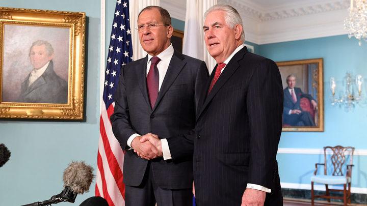 Лавров и Тиллерсон обсудили кризис на Украине за 50 минут