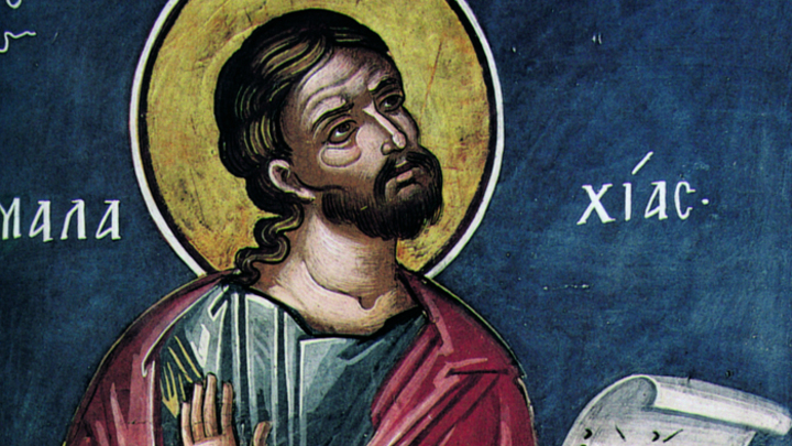 Пророк Малахия. Православный календарь на 16 января