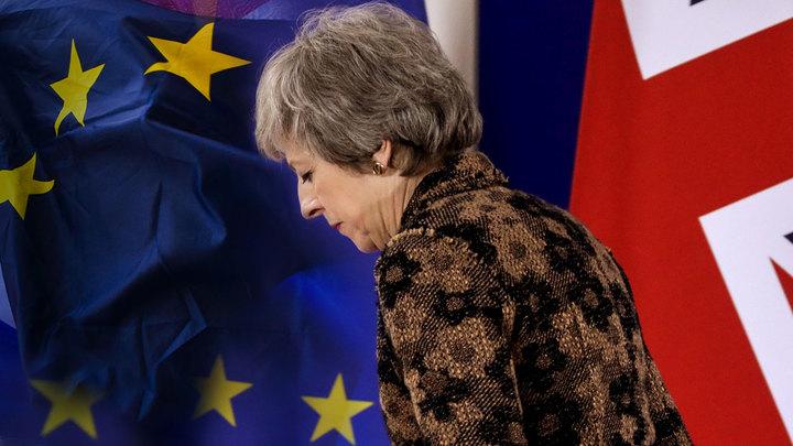 Мэй потерпела провал с фиктивным Brexit