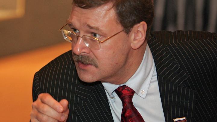 Косачев объяснил отказ Макрона от отставки Башара Асада