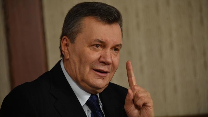 Виктор Янукович подал в суд на зачинщиков госпереворота на Украине