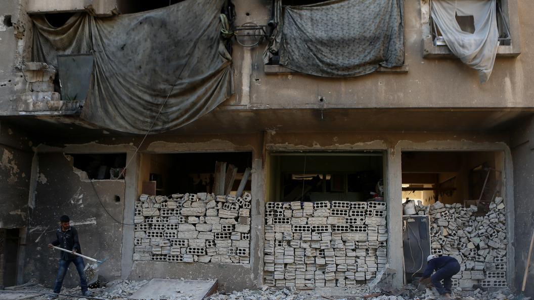 В сети появилось видео побега террористов из Ракки под покровительством США