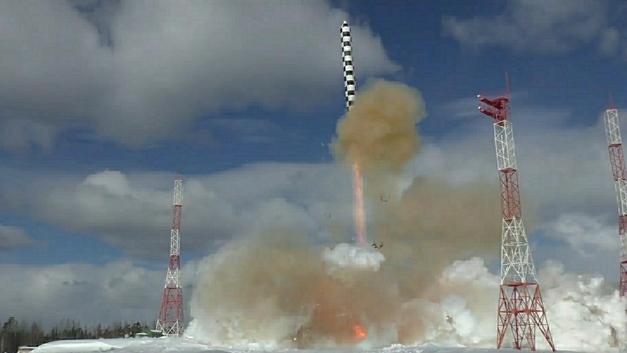 С Плесецка успешно стартовала ракетаСоюз-2.1б - Минобороны
