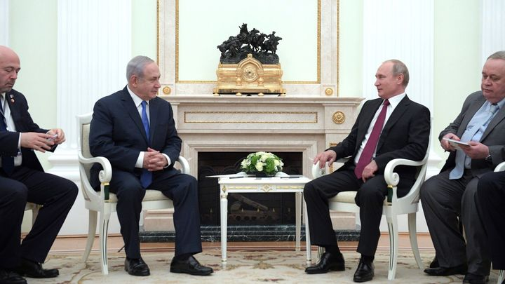 Нетаньяху: Израиль готов передать Российской Федерации  информацию поинциденту сИл-20