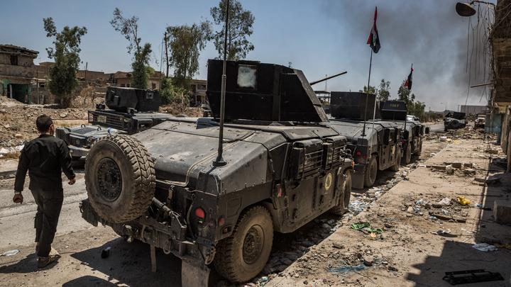 Военные Ирака полностью зачистили от террористов ИГИЛ центральные кварталы Эль-Каима
