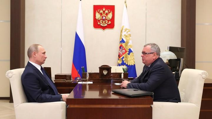 Костин попросил В.Путина  поддержать дедолларизацию